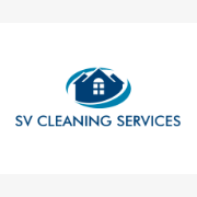 SV CLEANING SERVICES logo