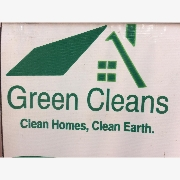 GREEN  CLEANS logo