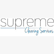 Supreme Cleaning Services logo