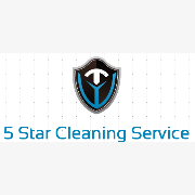 5 Star Cleaning Service logo
