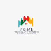 Prime Decors and Painters logo