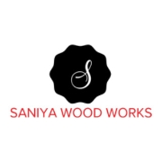 SANIYA  WOOD WORKS logo