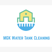 Logo of MGK Water Tank Cleaning