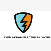 Logo of Syed Akram Electrical Work