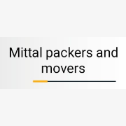 Logo of Mittal Packers And Movers