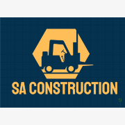 Logo of SA Construction