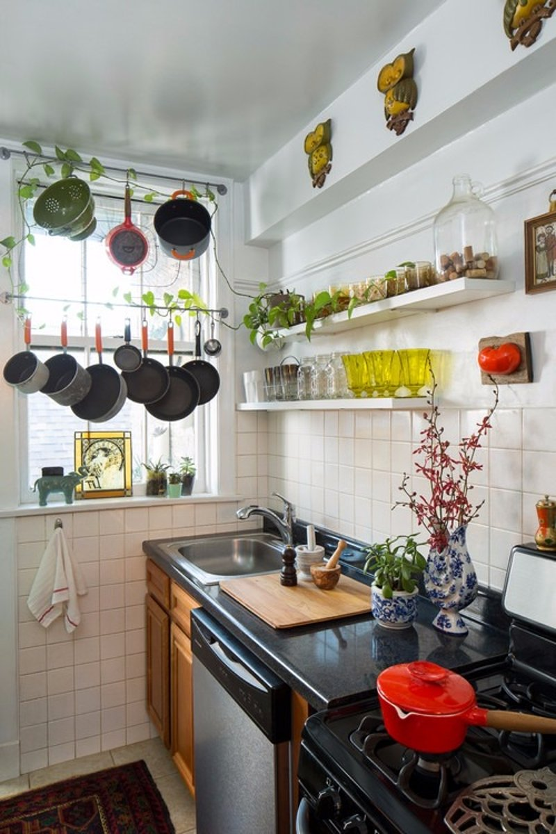 7 space saving ideas for your home kitchen hometriangle - Kitchens small spaces collection ...