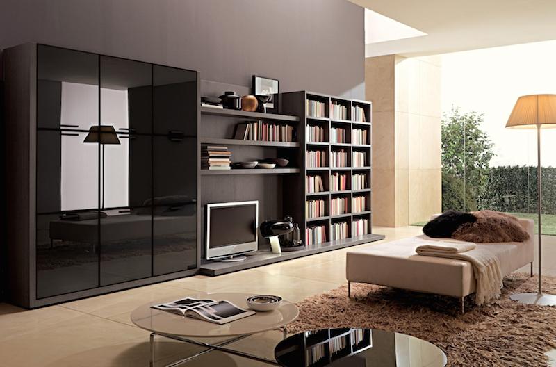 Modern Wall Wardrobe Almirah Designs - HomeTriangle