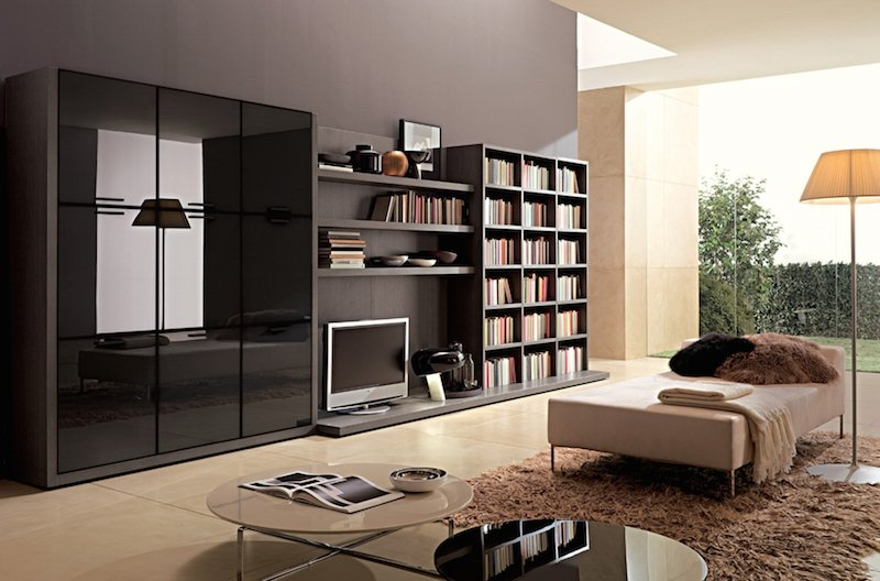 Modern Wall Wardrobe Almirah Designs HomeTriangle