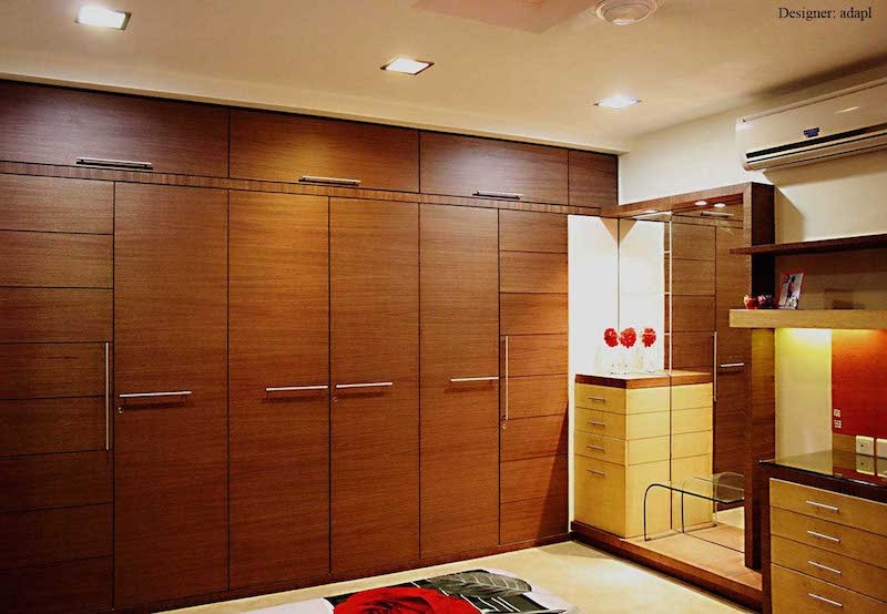 Modern Wall Wardrobe Almirah Designs Hometriangle