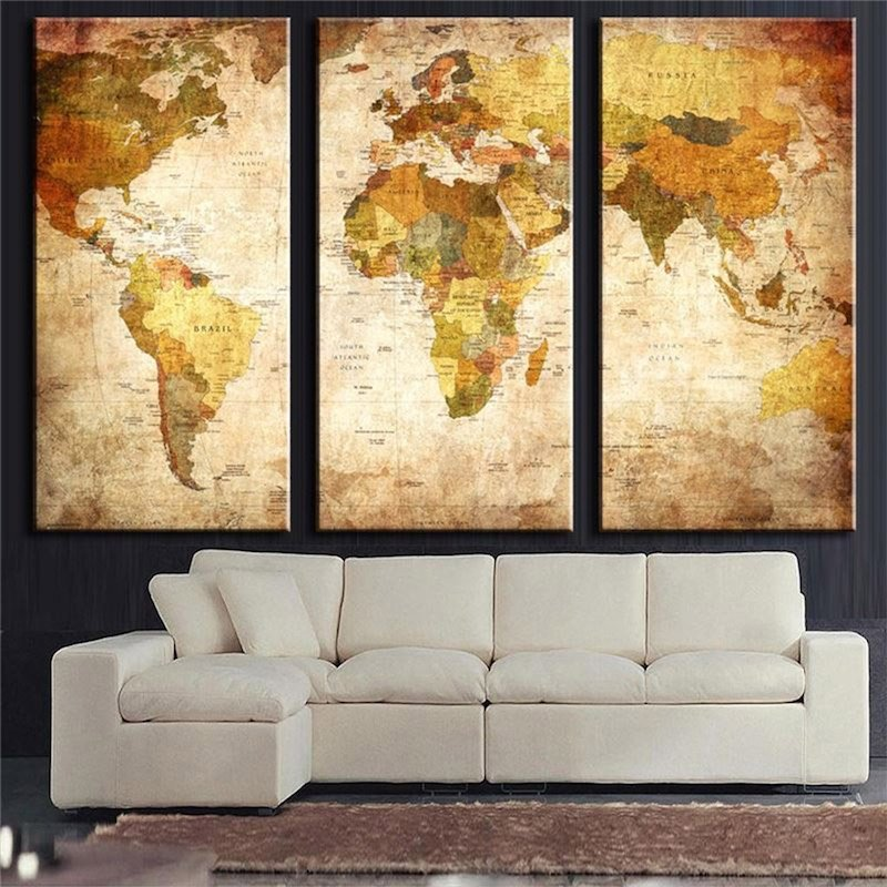30 Creative DIY Wall Art Ideas to Decorate Your Space - HomeTriangle
