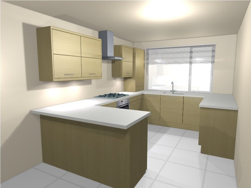 Use Your Space Wisely By Creating A Modular Kitchen Design For Your Small Kitchen Area