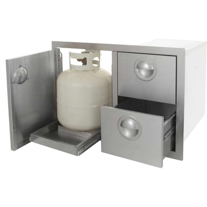 Ways Hide Your Gas Cylinder And Do It Beautifully Hometriangle