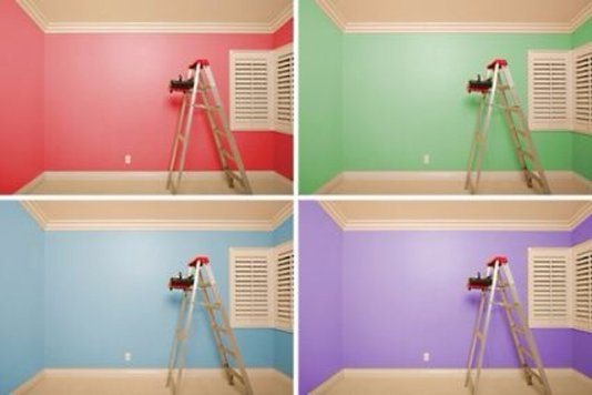 different rooms require different paint colors