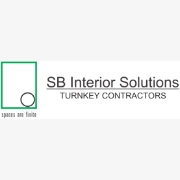 SB Interior Solutions logo