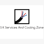 S K Services And Cooling Zone logo