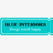 Blue interiors logo