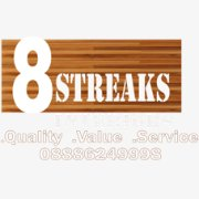 Logo of 8 streaks Interiors
